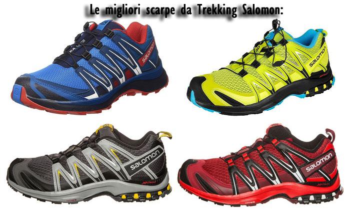 Scarpe da trekking Salomon Migliori